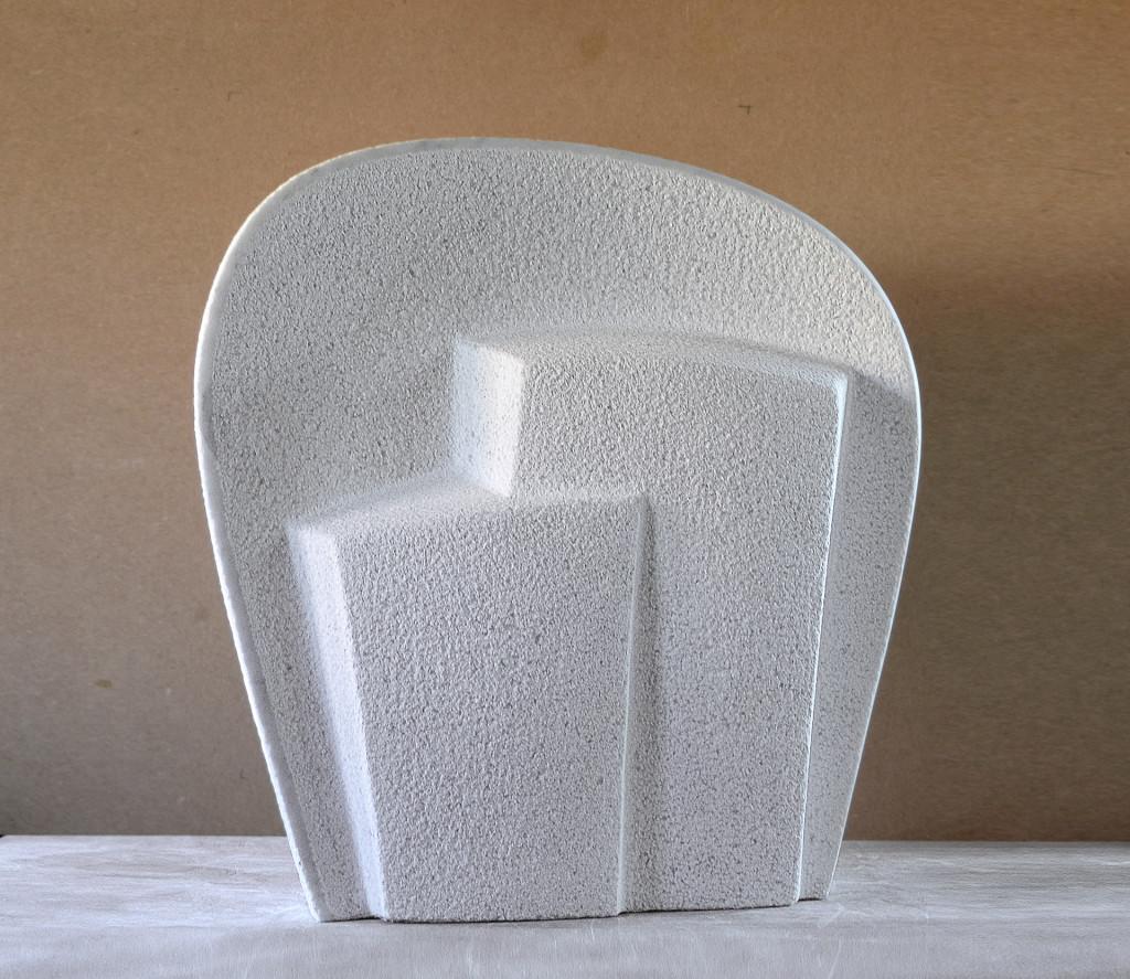 """sculptuur - titel """"Huwelijksbeeld"""" - marmer"""